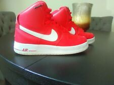 Men's Nike Air Force 1 One High top 07 Gym Red White Size 8.5