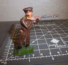 Made in England Lead WWI Soldier, Rifleman, 2 inch tall, decent condition