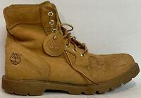 Timberland Men's Basic Nubuck Waterproof Boots TB019079 Wheat Size 10