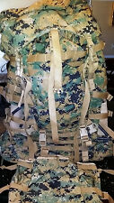 USMC Digital Marpat ILBE Arcteryx Back Packs (Complete)