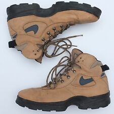 Vintage Nike Air ACG  Leather Hiking Trail Boots Mens Size 9,5/43 Mountain