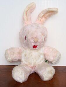 Vintage GUND Pink Bunny SWEDLIN Rabbit Plush Stuffed Estate Find