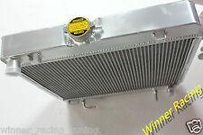 For MERCEDES BENZ Saloon W123 200D-280C 1976-1985 Aluminum alloy radiator 40MM