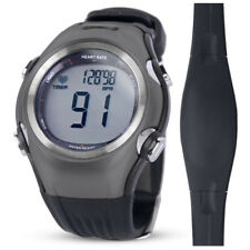 Heart Rate Monitor Men Women Sport Watch Digital Running Cycling W/ Chest Strap