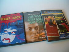 The Masque of the Red Death / Premature Burial also Planet of Blood Plus dvd lot