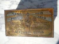 Malle tôle publicité Lefèvre - Utile Boite pub LU vers 1903