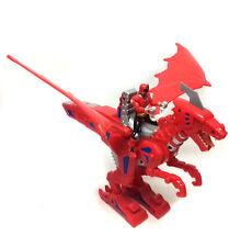Power Rangers Samurai Ranger Rojo Jinete de Dragón Figura De Acción De Juguete Con Sonido