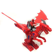 POWER RANGERS Samurai Red Ranger Dragon Rider action figure toy with sound
