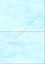 Marmorkuverts DIN C6 100 Kuverts cyan