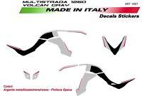 Kit adesivi per Ducati Multistrada 1200 Volcano Gray 2015-2017