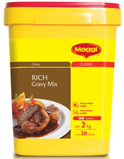 RICH GRAVY MIX 2KG BY MAGGI - LONG EXPIRY SEP 2019 (SECURELY PACKED) FREE POST