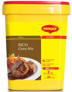 MAGGI RICH GRAVY MIX 2KG SECURELY PACKED BEST BEFORE OCTOBER 2021 -  FREE POST