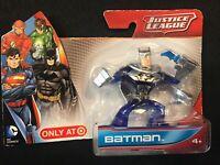 NEW DC Comics Justice League BATMAN Toy Figure Target EXCLUSIVE Blue Silver/Gray