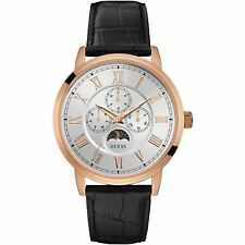 Guess Mens Watch Rose Gold White - SMART Gift Present Xmas Birthday W0870G2 UK