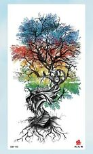 "tree of life large 8.25"" temporary tattoo cute little tattoos"