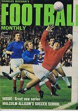 GLASGOW / MORTON / BRIAN KIDD MAN UTDBuchan's Football MonthlyJan1971