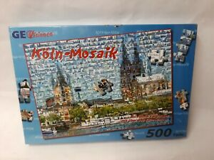 500 Pieces Puzzle Köln-mosaik - From Geovisionen - Rarity New/Boxed
