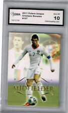 2011 Cristiano Ronaldo Futera Unique  Gem Mint 10 #107