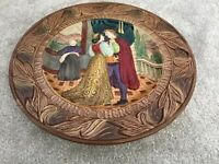 Large old Beswick Romeo & Juliet Charger Plate in very good condition