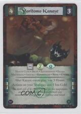 2013 Legend of the Five Rings CCG - Coils Madness #50 Yoritomo Kanaye Card 0b5