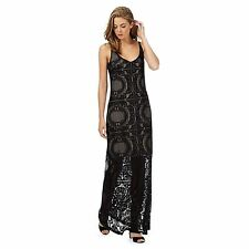 Polyester Square Neck Party Maxi Dresses for Women