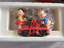 Lionel 6-18434 Porky And Petunia Hand Car O O-27 GAUGE  Model Trains Railroads