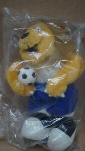 Goliath Maskottchen Plüschiger-Löwe, UEFA EURO 96 in OVP Fussball