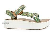 Teva Jhene Aiko Universal Flatform Leather Platform Sandals Womens Size 5 *NEW*