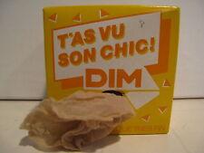 """DIM"" T'AS VU SON CHIC - collant classique tres fin 15 denari - dune  TG 1"