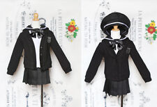 1/4 BJD msd mdd girl doll school uniform clothes outfit Set dollfie Luts minifee