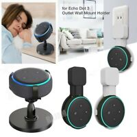 Wall Mount Hanger Holder Stand Socket for Amazon Echo Dot 3rd Generation 2019