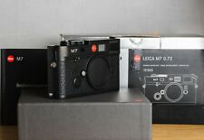 LEICA M7 35mm  0.72 Rangefinder Film Camera RF Leitz Wetzlar  Black OVP RARE M