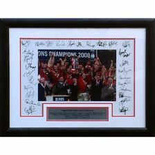 Wales 2008 Grand Slam signed and framed presentation