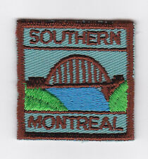 SCOUTS OF CANADA -  CANADIAN SCOUT QUEBEC SOUTHERN MONTREAL DISTRICT Patch