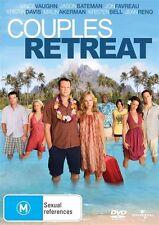COUPLES RETREAT * NEW SEALED REGION 2, 4  & 5 DVD *VINCE VAUGHN, JASON BATEMAN
