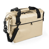 COOLER  USA MADE !!  Soft Pack cooler .. 12 can !!   FREE GIFT INCLUDED !! Tan