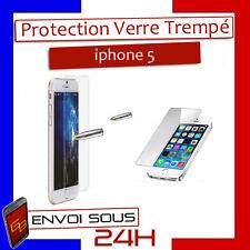 VITRE PROTECTION EN VERRE TREMP�‰ FILM PROTECTEUR �‰CRAN POUR IPHONE 5
