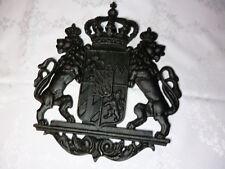 Wappen Königreich Bayern Siliziumguss schwarz getrommelt top