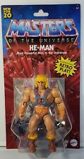 HE-MAN - Masters of the Universe RETRO PLAY (2019 MOTU) Action Figure
