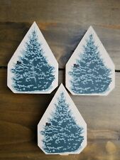 Cat'S Meow Village - Set Of 3 Pine Tree Accessories