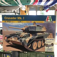 CRUSADER Mk.I - KIT ITALERI 1:35 art. 6432