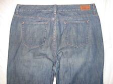 Eddie Bauer Flannel Size 16 X 33 3/4 Straight Leg Women's Jeans