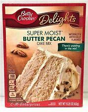 Betty Crocker Delights Super Moist Butter Pecan Cake Mix 15.25 oz