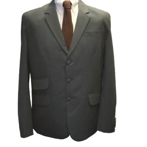 Relco London Clothing Green Two Tone Tonic Mens Suit,3 Button, Mod,60s, Soul,Ska