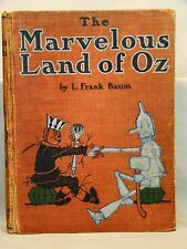 The Marvelous Land of Oz. First Ed 1904 of the Second Oz Book Color Plts J.Neill