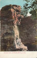 Early 1900's The Leap Rock at Pipestone, MN Minnesota PC