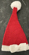 Mud Pie Chunky Knit Santa Hat with Bow