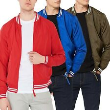 Jack & Jones Mens Bomber Jacket Lightweight Casual Outwear Coats Outfit