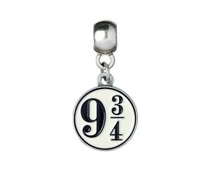 Official Harry Potter Jewellery Platform 9 3/4 Slider Charm Bead for Bracelets
