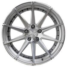 22x9 Verde Insignia 5x130 +42 Silver/Machined Rims Wheels New (4)